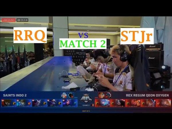 RRQ VS STJr Grandfinal MPL Match 2