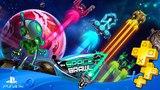 In Space We Brawl ► Бесплатная игра для подписчиков PS Plus ► #3#3 АПРЕЛЬ 2018