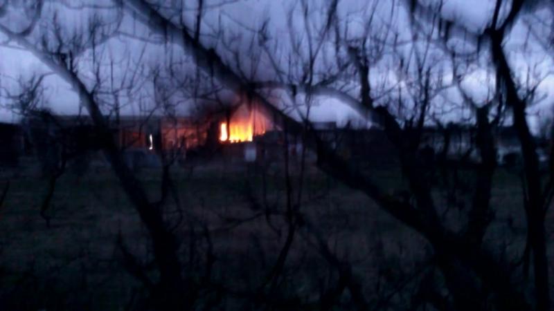 Большой пожар на Филлиповке