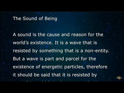The Sound of Being - Braco Official TV