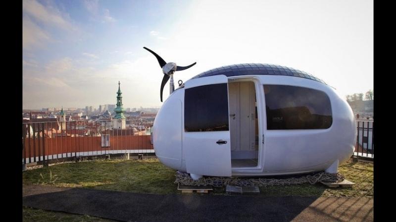 Экокапсула это микро дом площадью в 8 квадратных метров который легко вмещает двух человек