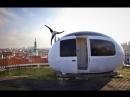 Экокапсула - это микро-дом площадью в 8 квадратных метров, который легко вмещает двух человек