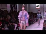 Diane Kruger, Marion Cotillard, Isabelle Huppert, model Sara Sampaio attend Armani Prive fashion sho