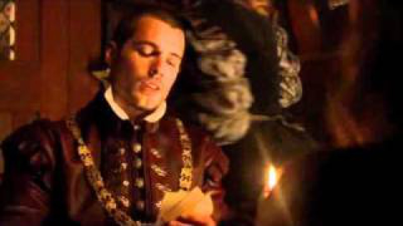 The Tudors: Henry Cavill in Charles/Margaret boat scene