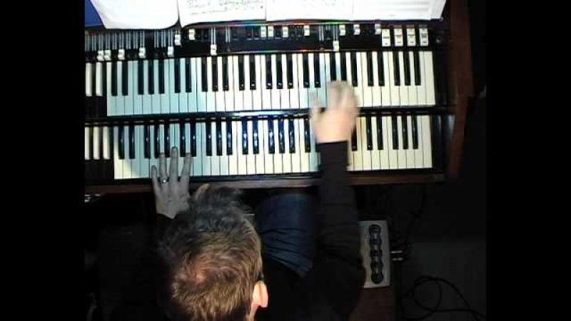 Gospel style (solo Hammond organ)