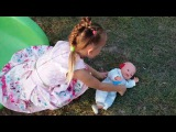 Games on the playground kid lost his nose Learn Colors With Funny Kids And Nursery Rhymes Baby Songs