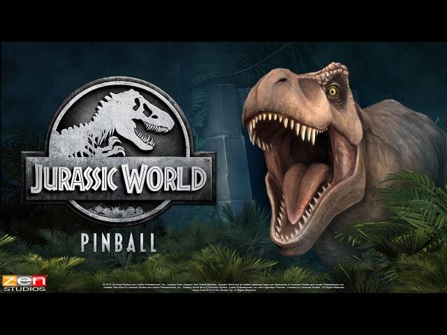 Jurassic World Pinball Celebrates 25 Years of Jurassic Park! - For Pinball FX3 From Zen Studios