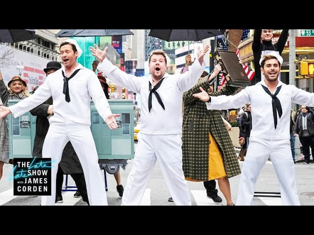 Crosswalk the Musical on Broadway (w Hugh Jackman, Zendaya Zac Efron)