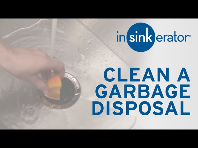 How to: Clean Garbage Disposal
