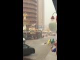 Rain in Benidorm