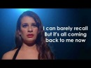 Glee - Its All Coming Back To Me Now Lyrics