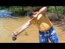 ✪ Рыболовная РОГАТКА для Стрел Необычная Рыбалка с РОГАТКОЙ и стрелами SLINGSHOT BOW FISHING