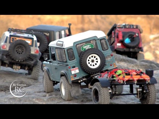 Traxxas D110 | hpi FJ | RC4WD D90 | Axial Jeep in Valley TraiL
