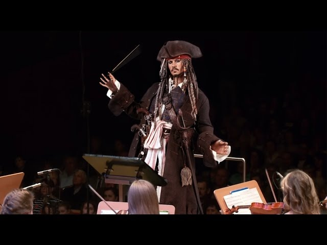 Pirates of the Caribbean Orchestral Medley, He's a Pirate パイレーツ・オブ・カリビアン 加勒比海盗
