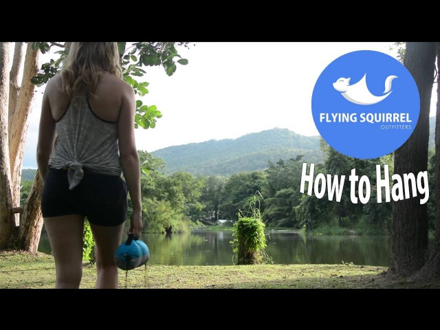 Flying Squirrel Outfitters How To Hang an FSO Hammock