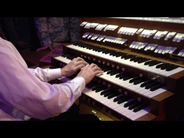 Bach's Toccata Fugue in D minor- Pipe Organ