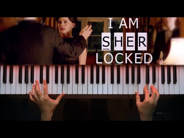 SHERlocked (Irene Adler's theme) - Sherlock BBC (Piano ver. Sheet music Synthesia)