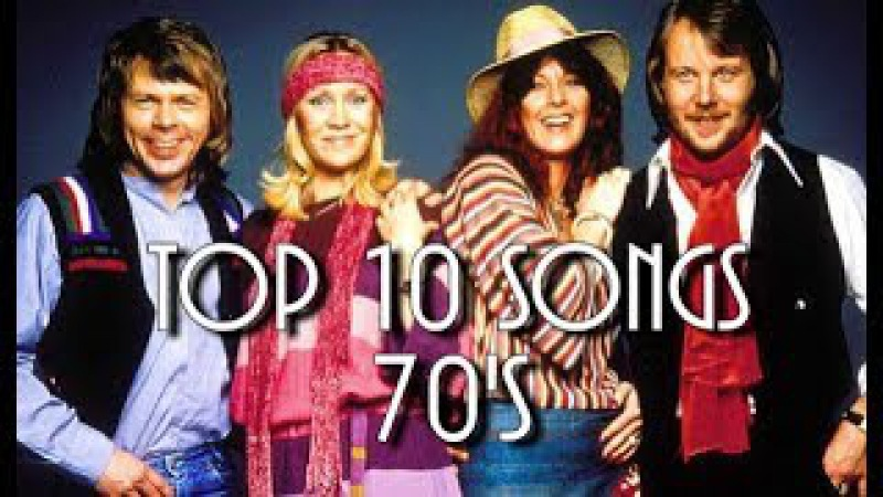 Top 10 Worldwide Hits Of Each Year (1970 - 1979)
