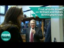 Final whistle blown on William and Kate's Birmingham visit