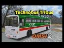 Автобус Technobus Tribus и Superbus 2 для Omsi 2