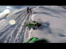 2016 02 28 Мотокросс Тренировка Вельяминово В снегу На грани эндуро Матюги