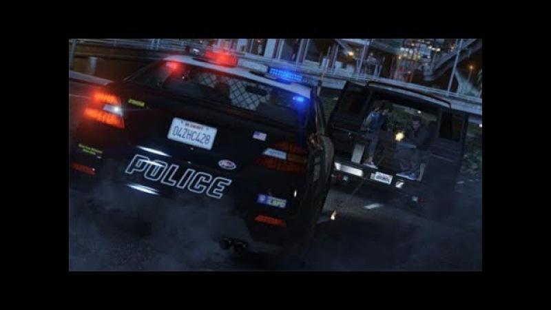 SAMP Diamond Role Play: Полицейские будни №8. Погони с напарником за нарушителем.