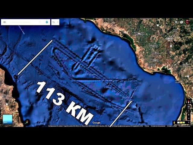 ШОК! Корабль длиной 113 км на дне моря!