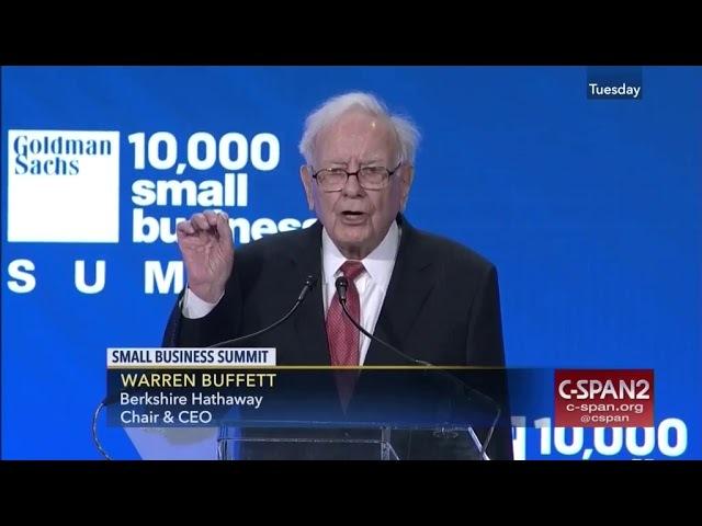 Warren Buffett - Advice for Entrepreneurs