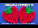 FRESA A CROCHET 2 en punto piña para adorno de cocina o agarraderas paso a paso en video tutorial