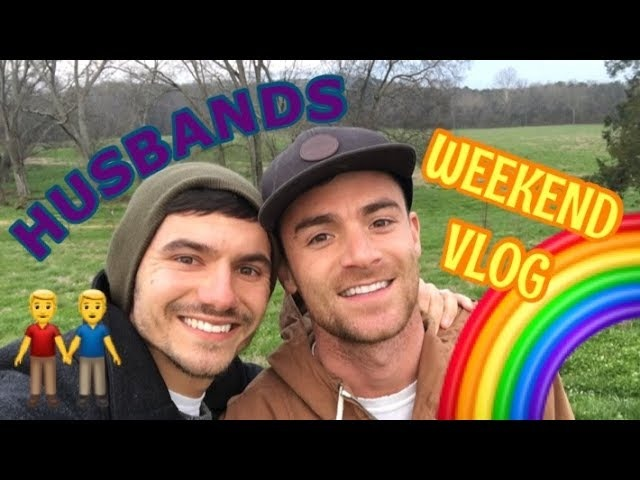 GAY Husbands Weekend Vlog | PJ and Thomas