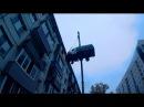 """""""Бийчанин поднял грузовую газель на 4-й этаж жилого дома"""" (Будни, 13.09.17г., Бийское т ..."""