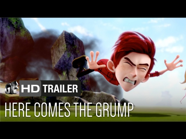 Here Comes The Grump (Trailer) - Lily Collins, Toby Kebbell, Ian McShane
