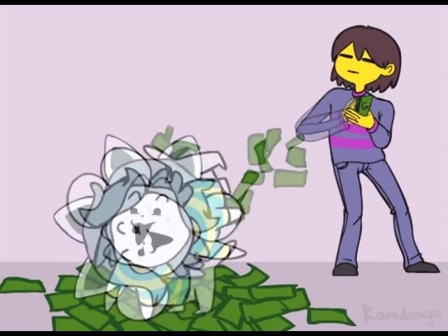 Undertale Temmie get money for colege(Better)