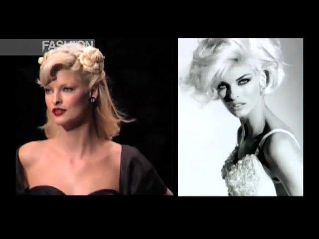 LINDA EVANGELISTA History 1993|2004 - Fashion Channel
