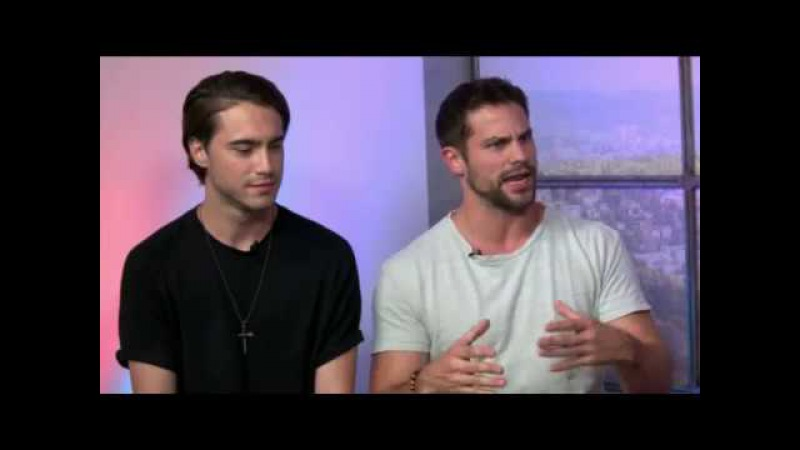 BRANT DAUGHERTY and RYAN MCCARTAN on After the Bell