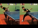 How to loop around the net ft. Chinese national team player TOMORROW TABLE TENNIS