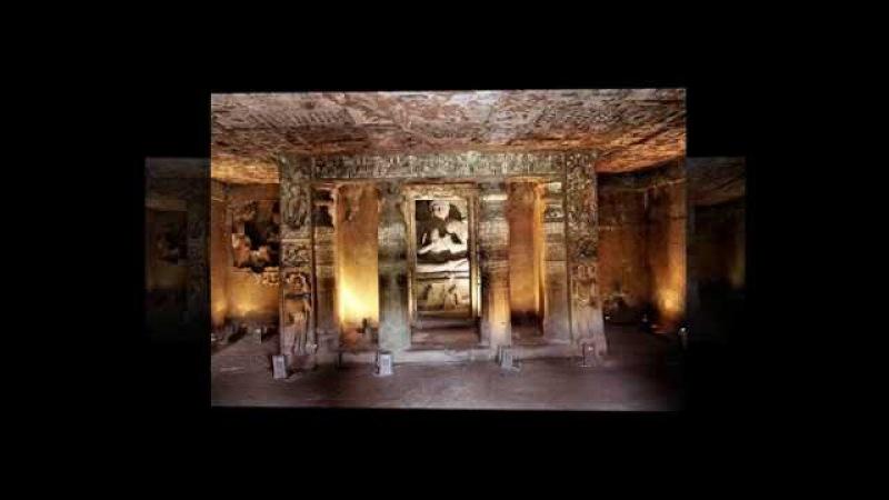 Смотри и думай...История 127.Пещерные храмы Аджанты.Индия.The cave temples of Ajanta.India.