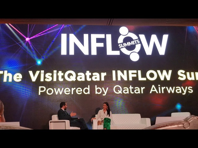 Shay Mitchell in Doha Inflow Summit at the Ritz Carlton Doha