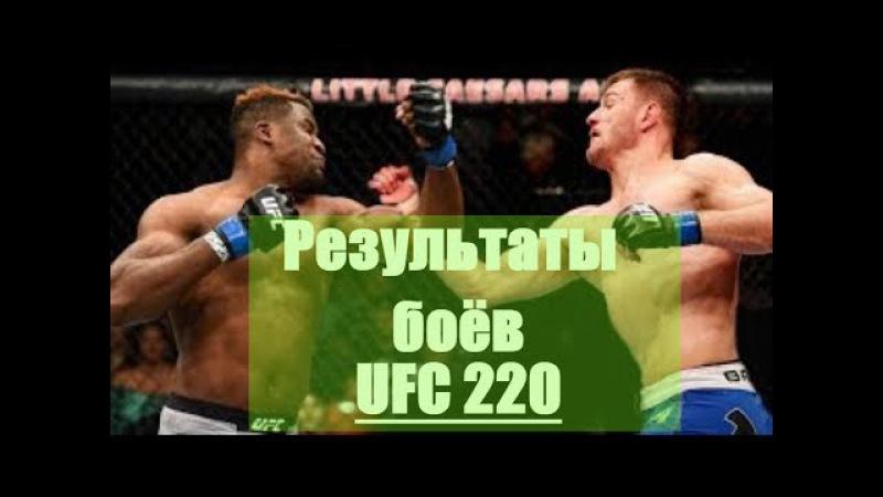 UFC 220 и Bellator 192. Результаты. Чемпионы Стипе Миочич и Даниэль Кормье защитили пояса ...