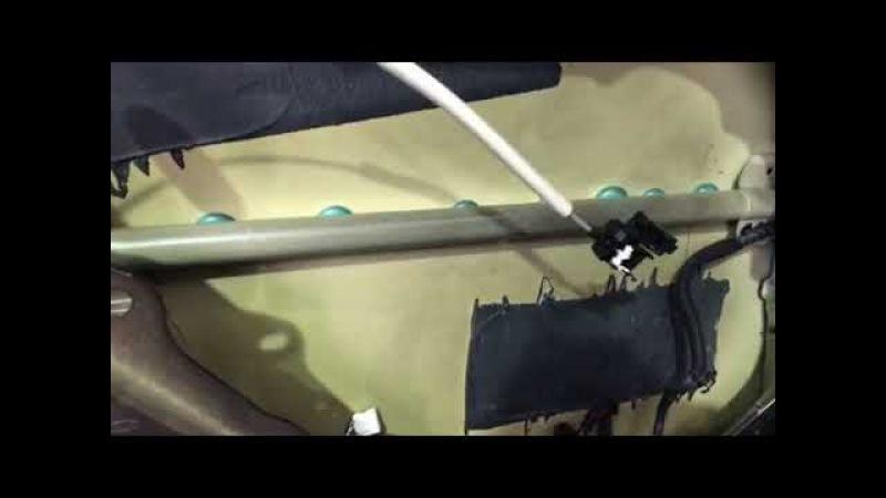 Киа Оптима, родная шумка присутствует, но годна лишь для небольшого снижения уровня шума в салоне