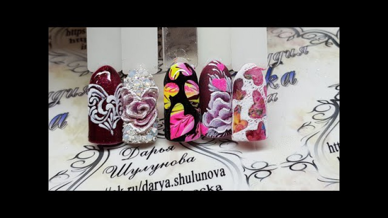 Дизайны ногтей к 14 Февраля. сердечки на ногтях. дизайн ногтей сердечки