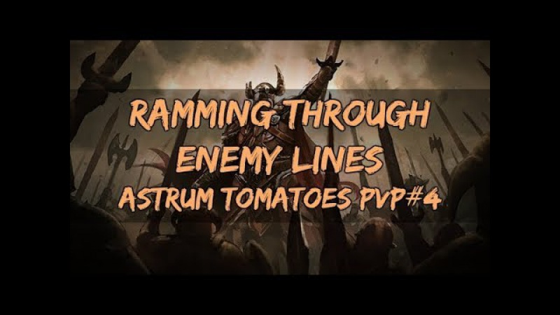 Ramming Through Enemy Lines | Astrum Tomatoes PVP 4 | ESO HotR