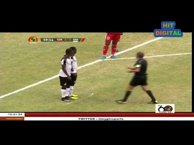 CONGO vs GHANA 2-й тайм в ужасном качестве
