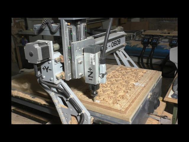 CNC milling on backgammon. ЧПУ фрезеровка на нардах.