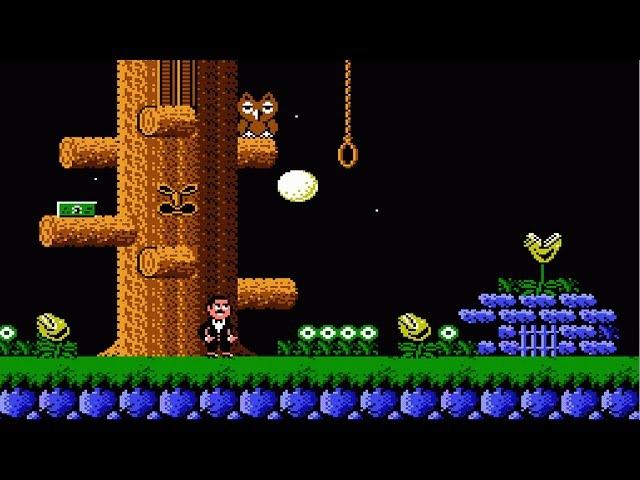 Addams Family NES Семейка Аддамс денди прохождение 049