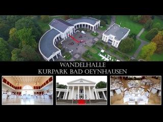 Wandelhalle im Kurpark, Bad Oeynhausen. Perfekte Location für eine Hochzeit mit freier Trauung.