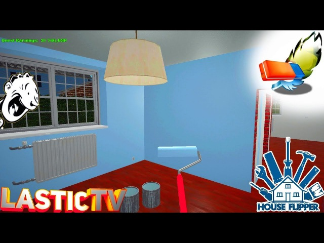 House Flipper 3 Миссия 4 - Голубая комната для Антона Грэй