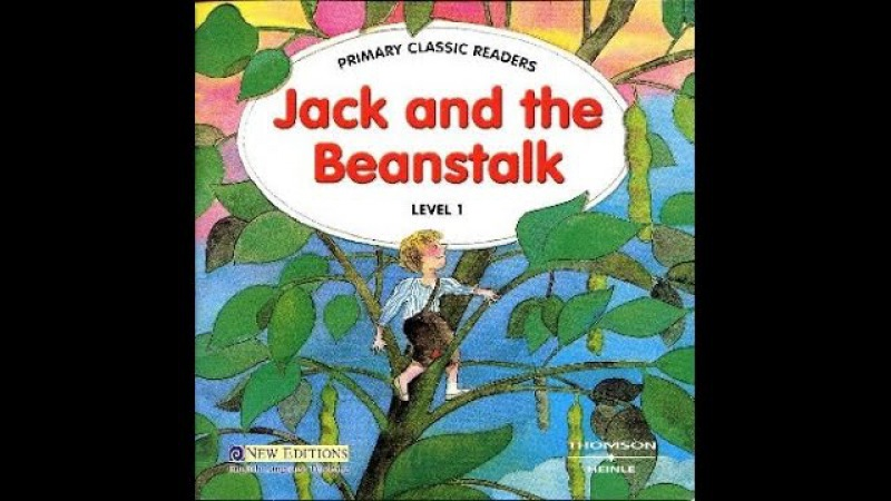Jack and the Beanstalk fairy tale Джек и бобовый стебель на английском