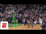 Marcus Morris hits clutch 3 with 1.2 seconds left to help shorthanded Celtics beat Thunder ESPN