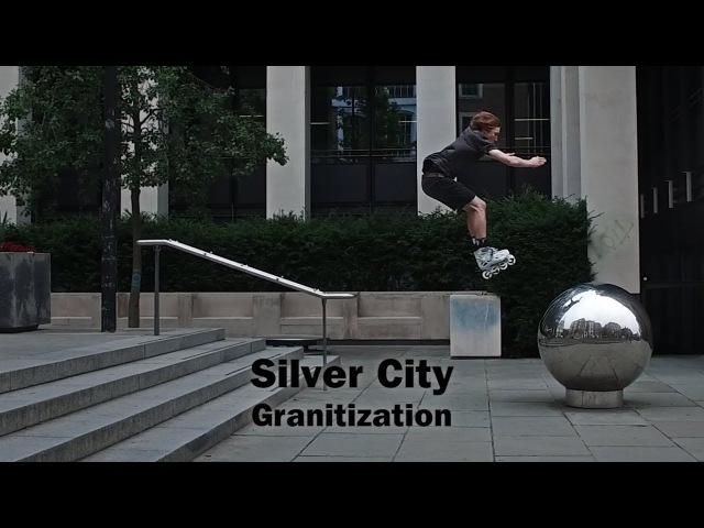 Silver City Granitization - Sam Crofts on Powerslide Imperial Granite urban inline skates